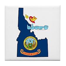 ILY Idaho Tile Coaster