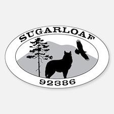 SugarloafDecalOval1 Decal