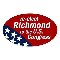 Re-elect Richmond bumper sticker