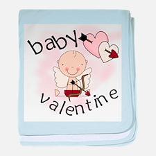Baby Valentine baby blanket