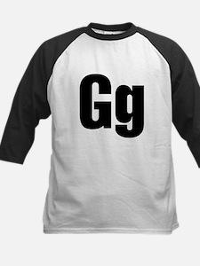 G Helvetica Alphabet Tee