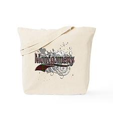 Montgomery Tartan Grunge Tote Bag