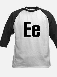 E Helvetica Alphabet Tee