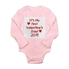 It's My First Valentine's Day Baby Outfits
