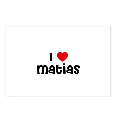 I * Matias Postcards (Package of 8)