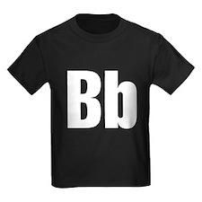 B Helvetica Alphabet T