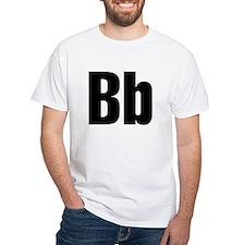 B Helvetica Alphabet Shirt