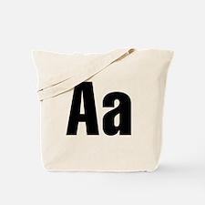 A Helvetica Alphabet Tote Bag