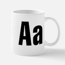A Helvetica Alphabet Mug
