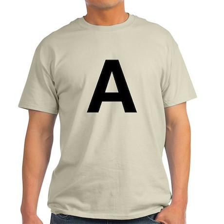 A Helvetica Alphabet Light T-Shirt