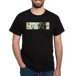 Buddha Baby = Wise Child on Black T-Shirt