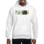 Buddha Baby = Wise Child on Hooded Sweatshirt