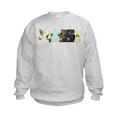 Buddha Baby = Wise Child on Sweatshirt