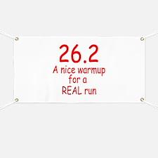 A Real Run Banner