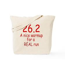 A Real Run Tote Bag