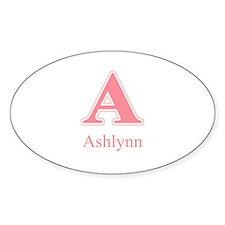 Ashlynn Oval Decal
