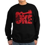The Uke Red Sweatshirt (dark)
