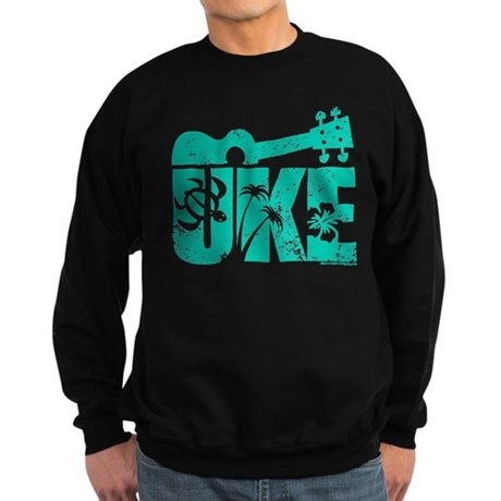 The Uke Seafoam Sweatshirt (dark)