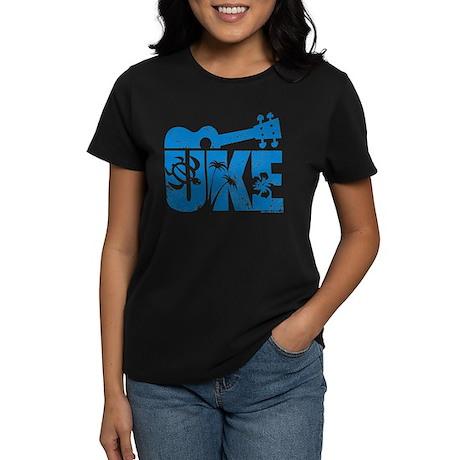 The Uke Blue Women's Dark T-Shirt