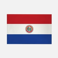 Paraguay Flag Rectangle Magnet