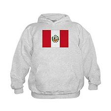 Peru Flag Hoodie