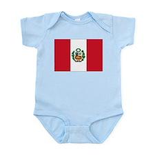 Peru Flag Infant Bodysuit