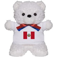 Peru Flag Teddy Bear