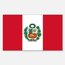 Peru Flag Decal