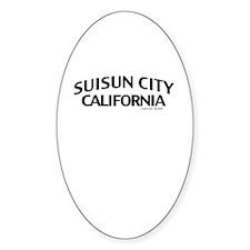 Suisun City Decal