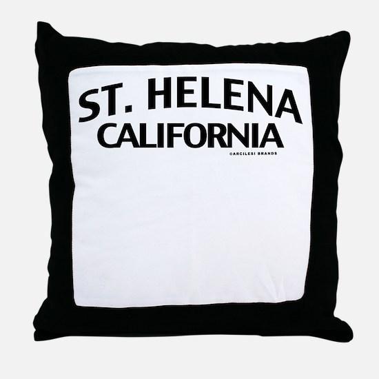St Helena Throw Pillow