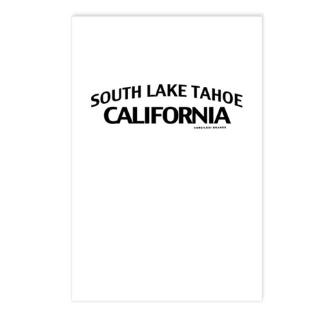 South Lake Tahoe Postcards (Package of 8)
