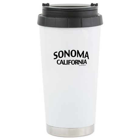 Sonoma Stainless Steel Travel Mug