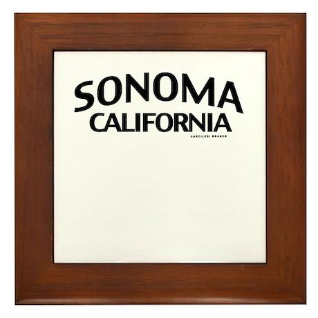 Sonoma Framed Tile