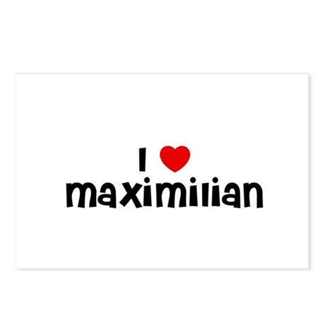 I * Maximilian Postcards (Package of 8)
