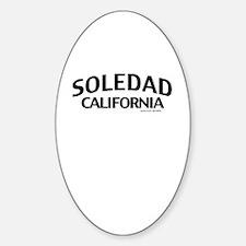 Soledad Sticker (Oval)