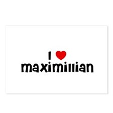 I * Maximillian Postcards (Package of 8)