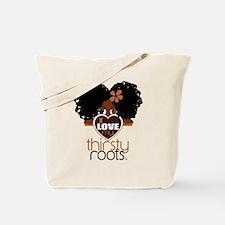 Curly Natural Afro Tote Bag