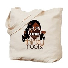 Long and Curled Hair Tote Bag