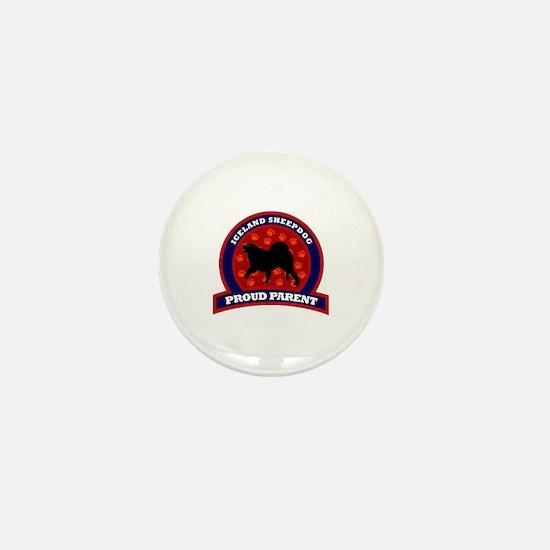 Iceland Sheepdog Mini Button