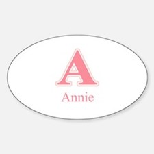 Annie Oval Decal
