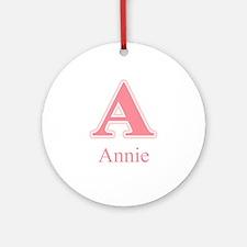 Annie Ornament (Round)