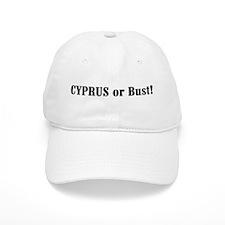 Cyprus or Bust! Baseball Cap