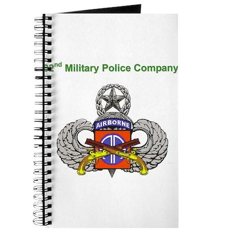 82nd MP Company Journal