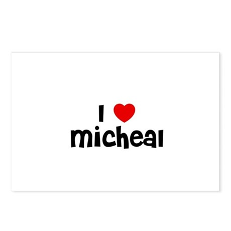 I * Micheal Postcards (Package of 8)