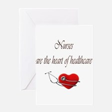 Heart of Healthcare Greeting Card