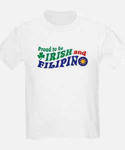 Proud to be Irish and Filipino T-Shirt