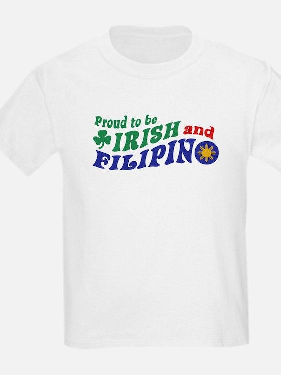 Proud to be Irish and Filipino T-Shirt