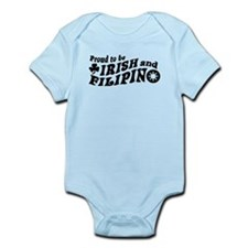 Proud to be Irish and Filipino Infant Bodysuit