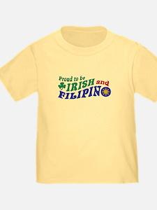 Proud to be Irish and Filipino T