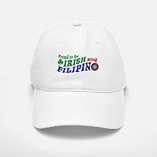 Proud to be Irish and Filipino Baseball Baseball Cap